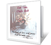 God Offers Comfort Encouragement Printable Cards