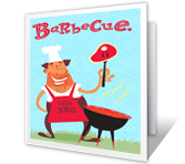 Barbecue Fun Father's Day Printable Cards