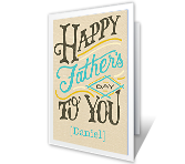 Every Happy Thing Father's Day Printable Cards
