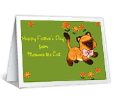 From the Cat Father's Day Printable Cards