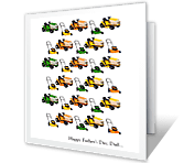 Mower Father's Days for You Father's Day Printable Cards