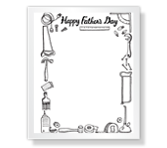 Mr. Fix It! Father's Day Printable Cards