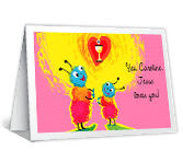 Jesus Loves You First Communion Printable Cards