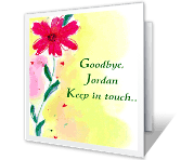 You'll Be Missed Good Bye Printable Cards