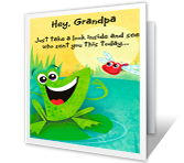 To a Special Grandpa Grandparents Day Printable Cards