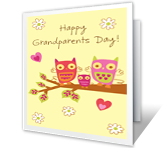 Two Special Grandparents Grandparents Day Printable Cards