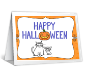Bee Happy! Halloween Printable Cards