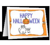Bee Happy! Halloween Printable Cards