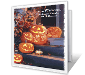 For a Special Family Halloween Printable Cards