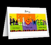Halloween Thoughts Halloween Printable Cards