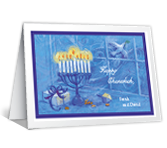 May You Be Blessed Hanukkah Printable Cards