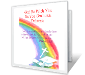 May God Be with You Holidays Printable Cards