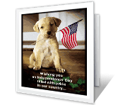 A Day of Pride and Love Independence Day Printable Cards