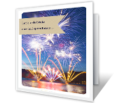 Let's Celebrate Independence Day Printable Cards