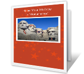 Monumental Holiday Independence Day Printable Cards