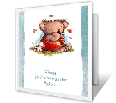 Again and Again Just Because Printable Cards