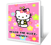 Heard the Buzz? Just Because Printable Cards