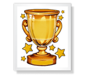 Sports Award Just Because Printable Cards