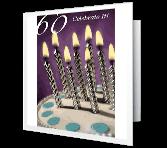 60th Birthday Milestone Birthday Printable Cards
