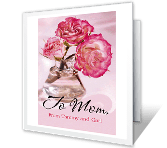 A Mom Is Love Mother's Day Printable Cards