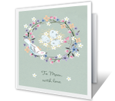 To Mom with Love Mother's Day Printable Cards