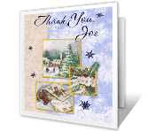Holiday Thoughtfulness New Year's Day Printable Cards