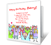 How Old Is Dirt? Over the Hill Birthday Printable Cards
