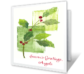 Best Holiday Wishes Season's Greetings Printable Cards