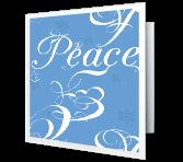 Joy, Love, Peace Season's Greetings Printable Cards