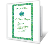 An Irish Prayer for You St. Patrick's Day Printable Cards