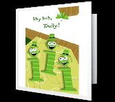 Irish I's St. Patrick's Day Printable Cards