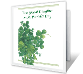 Special Daughter St. Patrick's Day Printable Cards