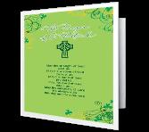 The Prayer of St. Patrick St. Patrick's Day Printable Cards