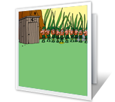 Wee People St. Patrick's Day Printable Cards