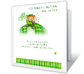 Wishing You Sunshine and Smiles St. Patrick's Day Printable Cards