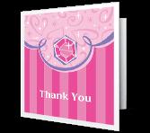 A Princess Thank You Thank You Printable Cards