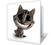 Big Smile Thank You Printable Cards