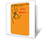 Thanks a Bunch Thank You Printable Cards