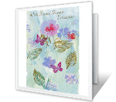 With Special Thanks Thank You Printable Cards