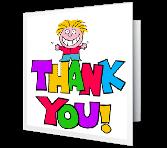 You Deserve Thanks Thank You Printable Cards