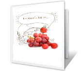 Grapeful for You Thanksgiving Printable Cards