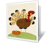 Happy Turkey Day Thanksgiving Printable Cards