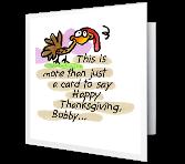 Long-distance Hug Thanksgiving Printable Cards