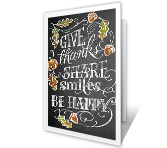 Simple Gifts Thanksgiving Printable Cards
