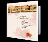 Wonderful Husband Thanksgiving Printable Cards