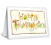 You're Close in Thought Thanksgiving Printable Cards