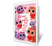 A Happy Valentine Valentine's Day Printable Cards