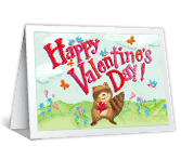 Happy Valentine's Day Valentine's Day Printable Cards