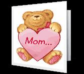 Love for Mom Valentine's Day Printable Cards