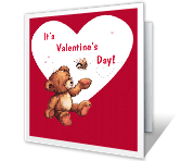 "To Say ""Hello"" Valentine's Day Printable Cards"